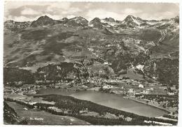 V4451 Sankt Moritz - Panorama / Viaggiata 1953 - GR Grisons
