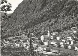 V4452 Brusio - Campocologno - Panorama Con La Stazione / Viaggiata 1961 - GR Grisons