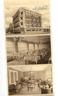 Breedene Sur Mer - Carte Lettre -Hôtel Cosmopolite - Dépliant; Intérieur Restaurant - Bredene