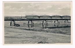 D-10785  GRAUDENZ : Eisenbahnbrücke Und Behelfsbrücke - Pommern