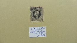 Europe > Espagne > Impots De Guerre  :timbre N° 27 Oblitéré - Tasse Di Guerra