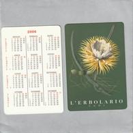 L'ERBOLARIO  Calendrier 2006  R /V - Perfume Cards