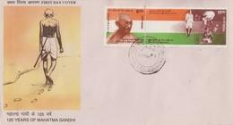Enveloppe   FDC  1er  Jour   INDE    MAHATMA    GANDHI    1994 - Mahatma Gandhi