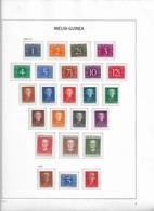 1950-1962 Nederlands Nieuw Guinea, Complete Including Postage Due &UNTEA Postfris** (7 Scans) - Nueva Guinea Holandesa