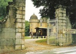 Château D' AYNAC Roulotte - France