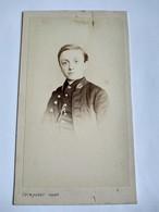 CDV Portrait Jeune Lycéen En Uniforme - Circa 1866 - Identifié - Photo TRINQUART, Paris. BE - Foto