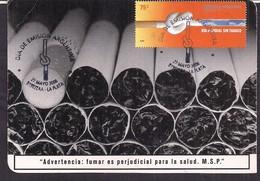 Argentina - 2006 - Carte Postale - Journée Mondiale Sans Tabac - Drugs