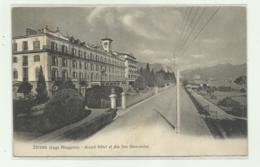 STRESA - GRAND HOTEL ET DES ILES BORROMEES 1907 VIAGGIATA  FP - Verbania