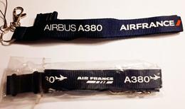 Air France Cordon Tour De Cou A380 Neuf - Aviación Comercial