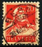 SCHWEIZ 1924 Nr 206z Zentrisch Gestempelt X6973D6 - Gebraucht