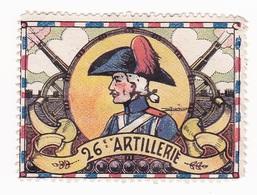 Vignette Militaire Delandre - 26ème Régiment D'artillerie - Vignettes Militaires