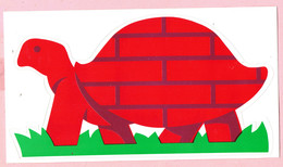 Sticker - BATIBOUW Logo - Schildpad - Stickers