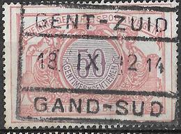 D0.591: TR35: GENT-ZUID // GAND-SUD : 18 IX 12 14 : Inval Duitsers 14-18 - WW I