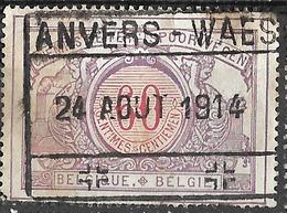 D0.593: TR37: ANVERS -WAES : 24 AOUT 1914 : Inval Duitsers 14-18 - WW I