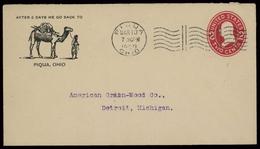 1909, USA, U 132 II, Brief - Etats-Unis