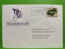 Enveloppe, Vélo Sport Hamm 1973 - Storia Postale