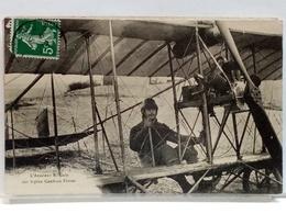 L'AVIATEUR E GALY SUR BIPLAN CAUDRON FRERES - 1912 - Airmen, Fliers