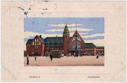 Stralsund - Hauptbahnhof, 1912 - Stralsund