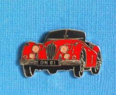 1 PIN'S //  ** JAGUAR-XK-140-SE-ROADSTER / 1955 ** . (Démons & Merveilles) - Jaguar