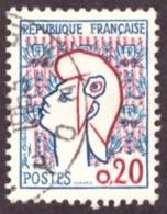 France   1961- Yt N°1282  Marianne De Cocteau - 1961 Marianne De Cocteau