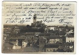 4263 - CHIERI TORINO PANORAMA E CHIESA S GIORGO 1943 - Altre Città