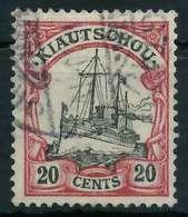 KIAUTSCHOU (DT. KOLONIE) Nr 22 Gestempelt Gepr. X094202 - Colony: Kiauchau