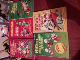 Lot  5 Disney Manuel Des Castors Juniors Tome 3-4-5-6 Et Le Magirama - Loten Van Stripverhalen
