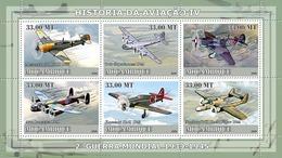 Mozambique 2009 Planes Of World War II - Mozambique