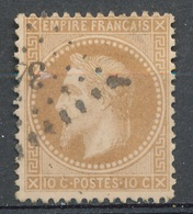 N°28 NUANCE ET OBLITERATION. - 1863-1870 Napoléon III. Laure