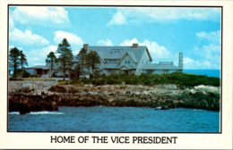 Maine Kennebunkport Summer Home Of Vice President George Bush - Kennebunkport