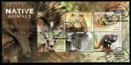Australia 2015 Native Animals Minisheet Used - Used Stamps