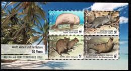 Australia 2011 World Wide Fund For Nature Joint Territories Minisheet MNH - Ungebraucht