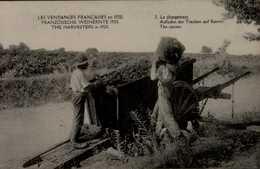 LES VENDANGES FRANCAISES EN 1920...LE CHARGEMENT   ....CPA ANIMEE - Vines