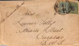 Peru 1920 Letter To Curacao, (Postal History) - Pérou