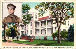 Arkansas LIttle Rock Old Arsenal Building Birthplace Of General Douglas Mac Arthur - Little Rock