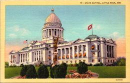 Arkansas Little Rock State Capitol Building Curteich - Little Rock