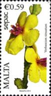 Malte Poste N* Yv:1780 Mi:1855 Sepac Verbascum Sinuatum (sans Gomme) - Malte