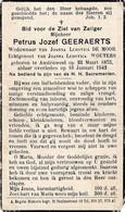 Austruweel, 1942, Petrus Geeraerts, De Moor, Wouters - Images Religieuses