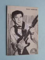 RICKY MORVAN ( Globe Records ) W. Huys BISSEGEM > Anno 19?? ( Zie Foto Voor Details ) ! - Autogramme