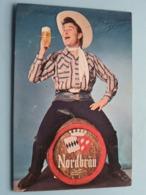 BOBBEJAAN SCHOEPEN ( Nordbräu ) Imp. LALINE Jemappes > Anno 19?? ( Zie Foto Voor Details ) ! - Autographs
