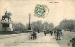 TOUT PARIS Ier LE PONT NEUF STATUE D'HENRI IV - Arrondissement: 01