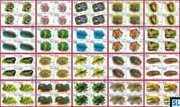 Sri Lanka Stamps 2020, Wild Species Threatened By Trade, Animals, MNH - Sri Lanka (Ceylon) (1948-...)