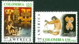 COLOMBIA 1989 AMERICA-UPAE, DISCOVERY OF AMERICA** (MNH) - Kolumbien