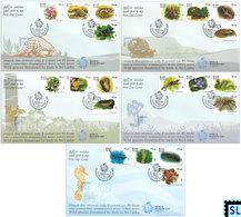 Sri Lanka Stamps 2020, Wild Species Threatened By Trade, Animals, FDCs - Sri Lanka (Ceylon) (1948-...)
