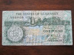 GUERNSEY 1 POUND - Guernsey