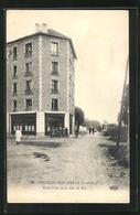 CPA Villiers-sur-Marne, Rond-Point De La Rue De Bry - Villiers Sur Marne