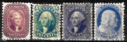 103 -  USA - 1851 - FORGERIES, FALSES, FALSCHEN, FAKES, FALSOS - Sammlungen (ohne Album)