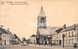 Kerk En Postbureel  - Wakken - Dentergem