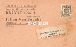 Clôtures Electrique  - Julien Van Pucke 1937 - Wakken - Dentergem