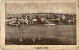 Pleigne 1914 - Feldpost - JU Jura